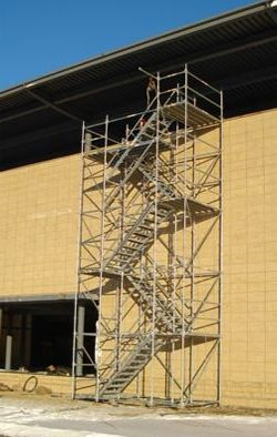 Temporary Stair Towers